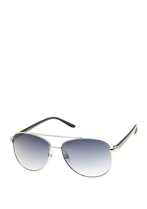 Crown & Ivy™ Aviator Sunglasses