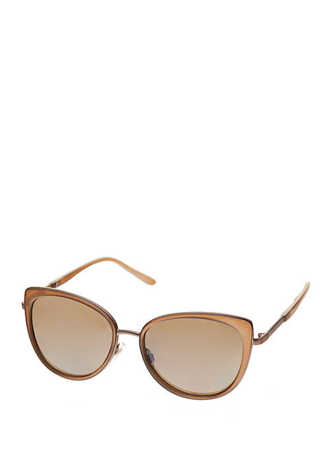 Crown & Ivy™ Cat Eye Sunglasses