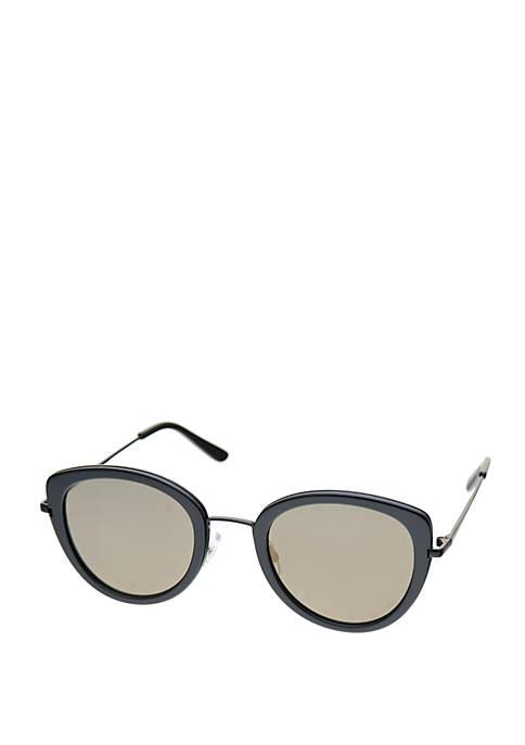Crown & Ivy™ Combo Medium Kitten Sunglasses