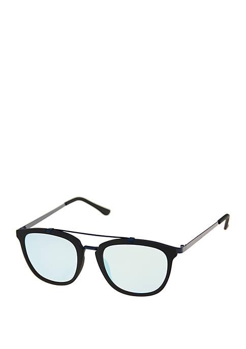 Crown & Ivy™ Raised Bar Sunglasses