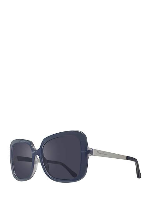 Draper James Marianna Square Smoke Sunglasses