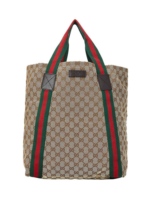 What Goes Around Comes Around Gucci Tote Bag