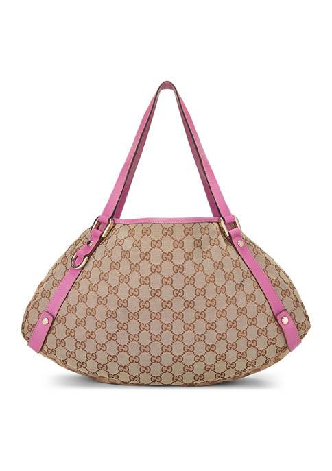 Gucci Pink Canvas Bag- FINAL SALE, NO RETURNS