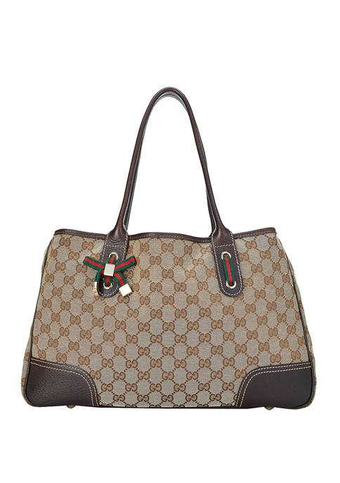 What Goes Around Comes Around Gucci Princy Tote