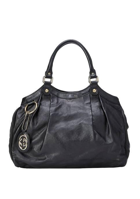 Gucci Black Leather Sukey Bag - FINAL SALE, NO RETURNS