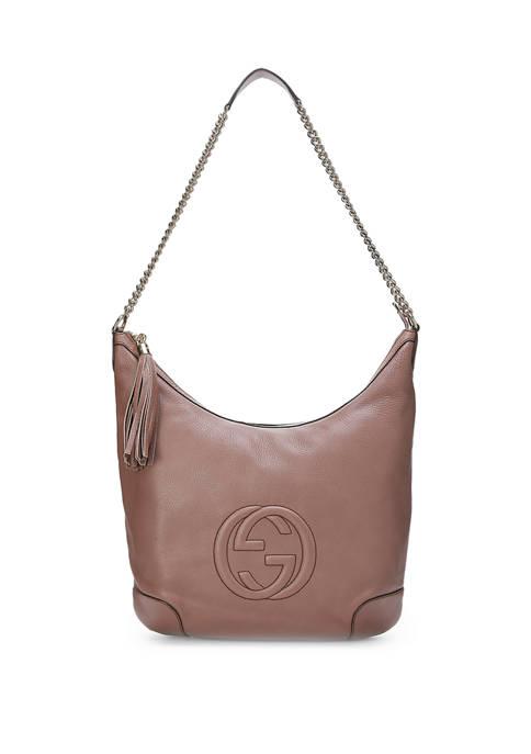 Gucci Purple Leather Soho Hobo - FINAL SALE, NO RETURNS