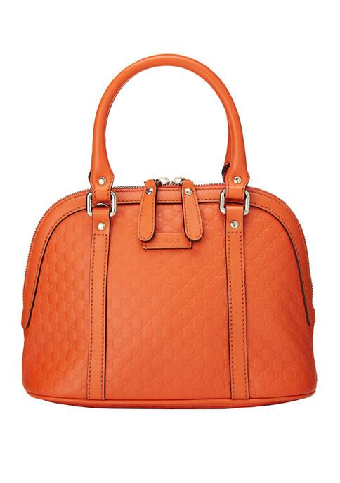 Gucci Orange MicroGuccissima Dome Mini Bag - FINAL SALE, NO RETURNS