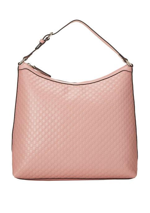 Gucci Pink Micro Guccissima Hobo - FINAL SALE, NO RETURNS