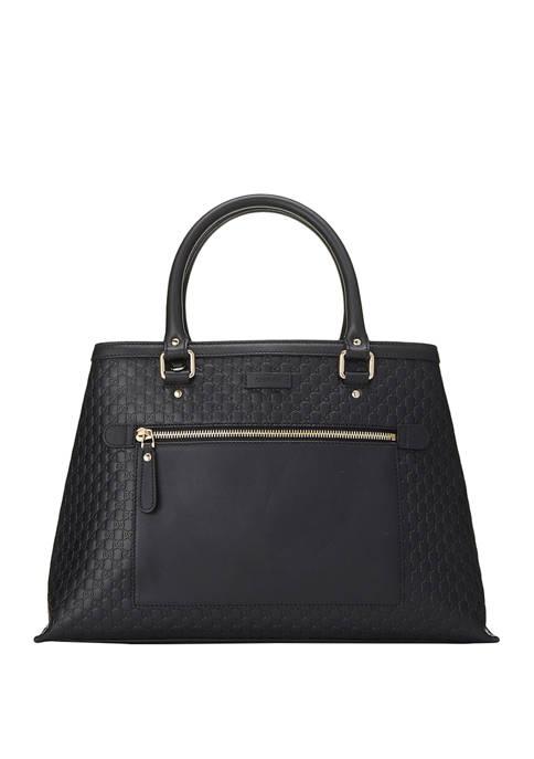 Gucci Black MicroGuccissima Handbag - FINAL SALE, NO RETURNS