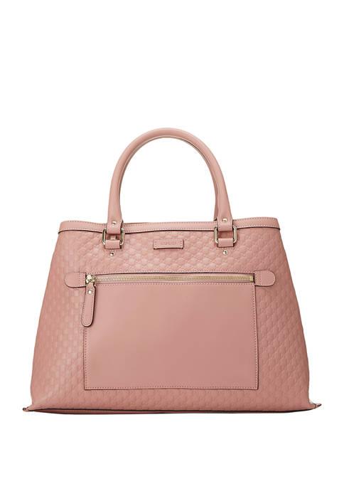 Gucci Pink Micro Guccissima Handbag - FINAL SALE, NO RETURNS