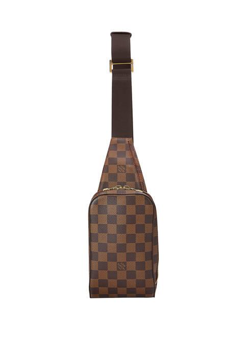 Louis Vuitton Damier Ebene Géronimos Belt Bag - FINAL SALE, NO RETURNS