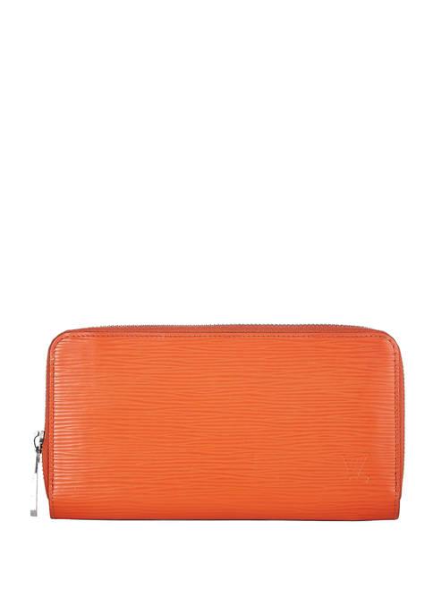 Louis Vuitton Orange Epi Zippy Wallet - FINAL SALE, NO RETURNS