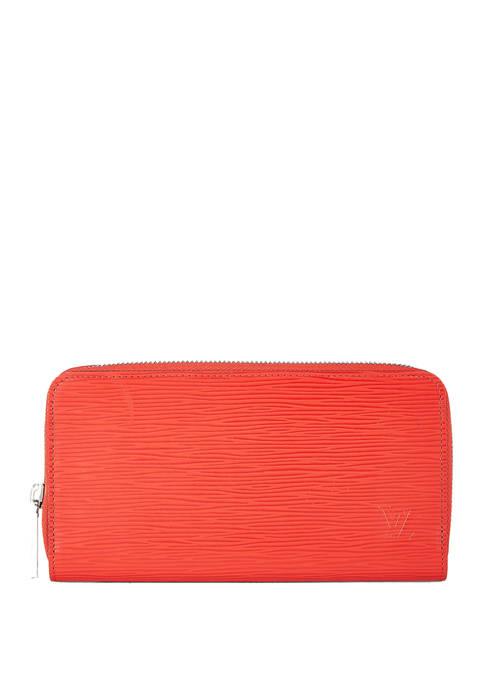 Louis Vuitton Red Epi Zippy Wallet - FINAL SALE, NO RETURNS