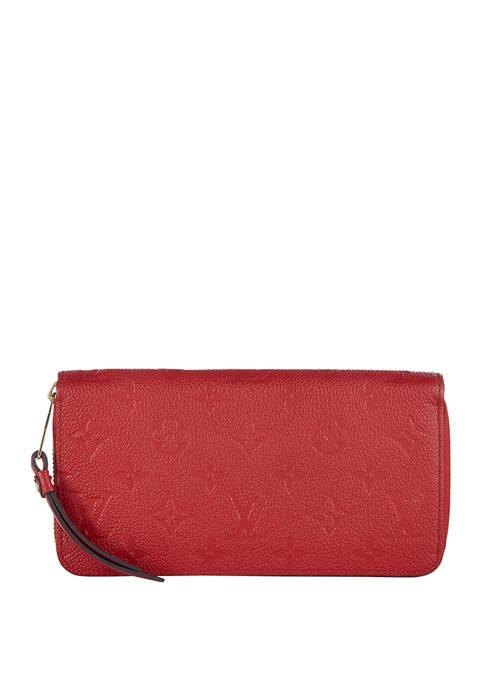 Louis Vuitton Red Empriente Zippy Wallet - FINAL SALE, NO RETURNS