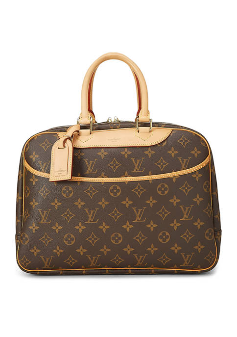 Louis Vuitton Monogram Deauville Travel Bag - FINAL SALE, NO RETURNS