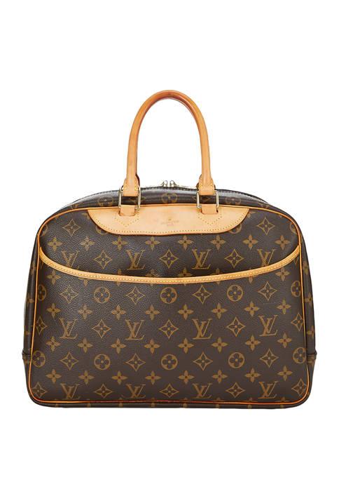 Louis Vuitton Monogram Deauville Satchel - FINAL SALE, NO RETURNS
