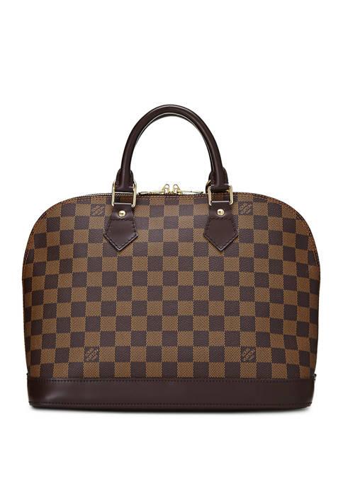 Louis Vuitton Damier Ebene Alma PM Satchel - FINAL SALE, NO RETURNS