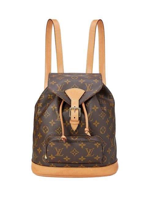 Louis Vuitton Monogram Montsouris MM Backpack - FINAL SALE, NO RETURNS