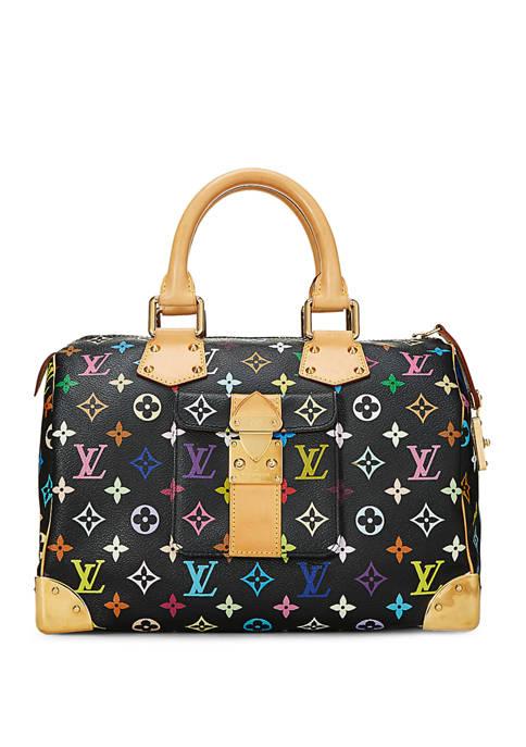 Louis Vuitton Black Multicolore Speedy 30 Satchel - FINAL SALE, NO RETURNS