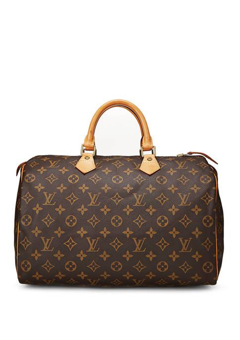 Louis Vuitton Monogram Speedy 35 Satchel - FINAL SALE, NO RETURNS