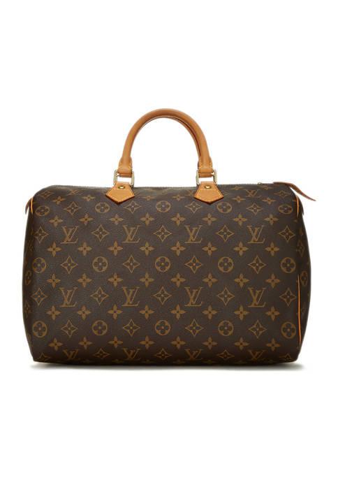 Louis Vuitton Monogram AB Speedy 35 Bag- FINAL SALE, NO RETURNS