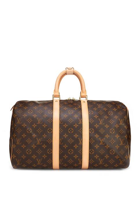 Louis Vuitton Monogram Keepall 45 Duffel - FINAL SALE, NO RETURNS