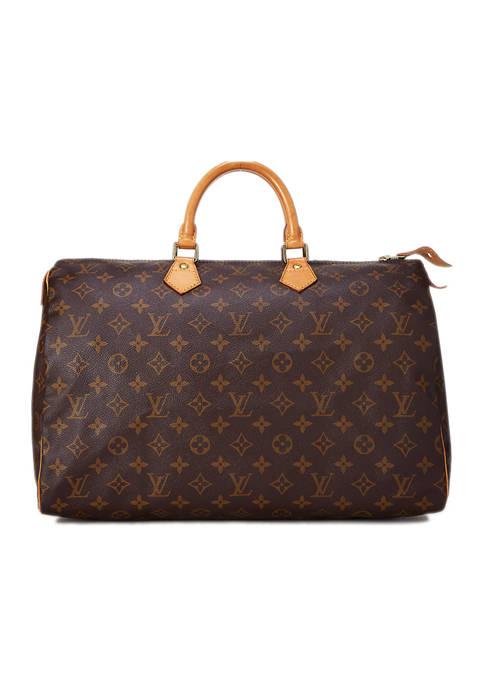 Louis Vuitton Monogram AB Speedy 40 Bag- FINAL SALE, NO RETURNS