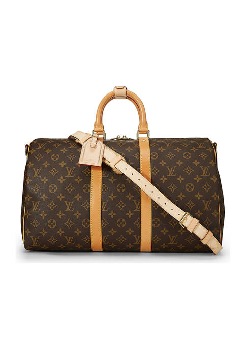 Louis Vuitton Monogram Keepall Bandouliere 45 Bag - FINAL SALE, NO RETURNS