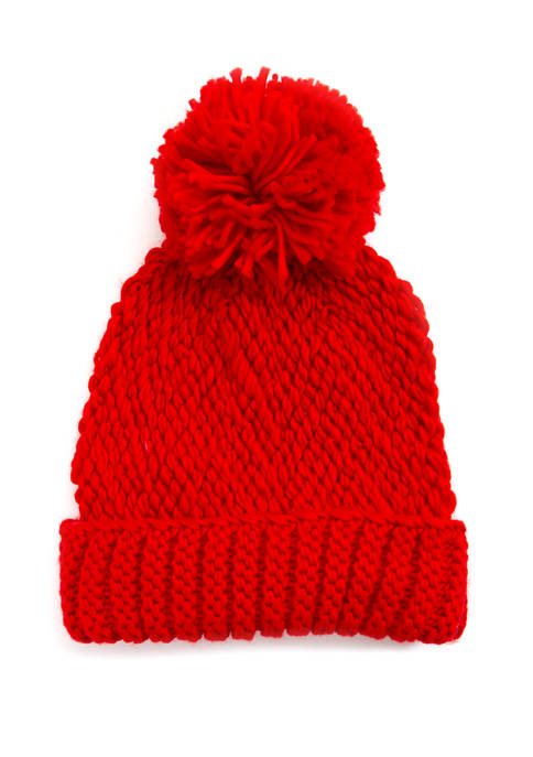 Collection XIIX Solid Pom Hat