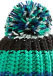 Multicolored Pom Hat