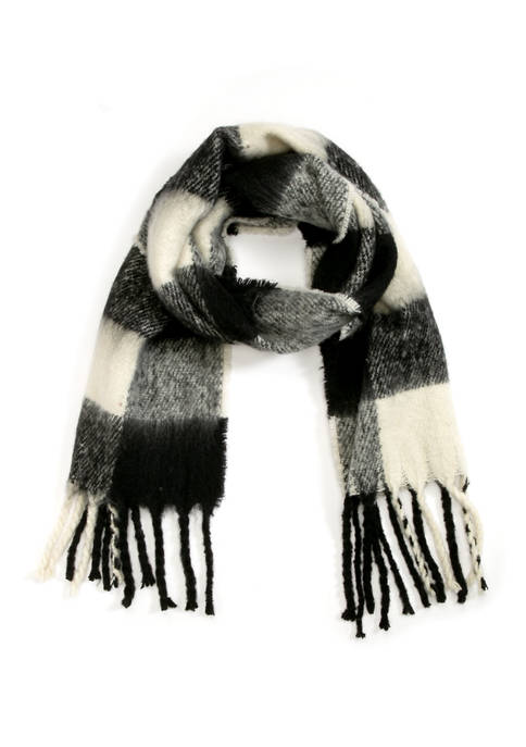 Collection XIIX Buffalo Check Wrap Scarf
