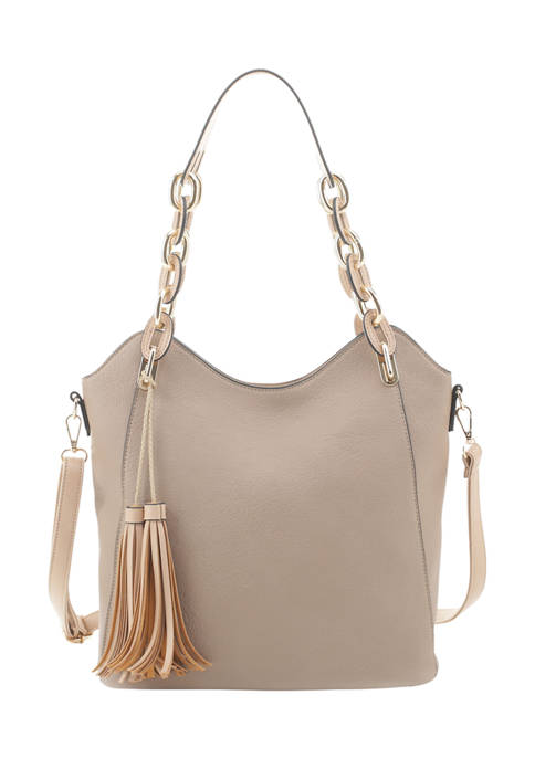 New Directions Chain Strap Tote
