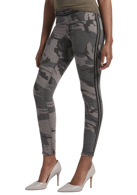 KENDALL + KYLIE Camo Denim Leggings