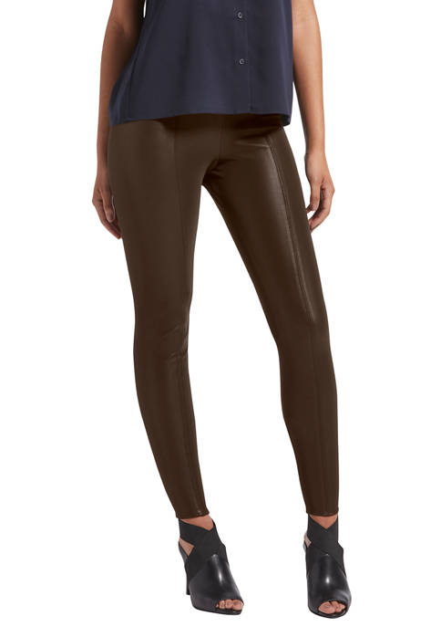 KENDALL + KYLIE Pebbled Faux Leather Leggings