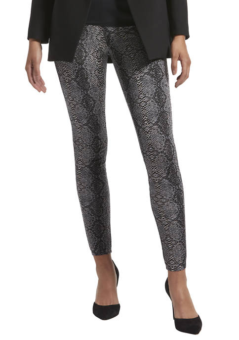 KENDALL + KYLIE Python Ponte Phone Pocket Leggings