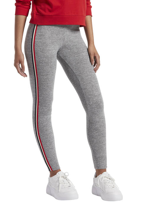 KENDALL + KYLIE Double Waistband Brushed Leggings