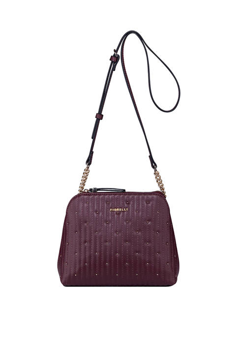 Rosa Micro Pebble Dome Shape Crossbody