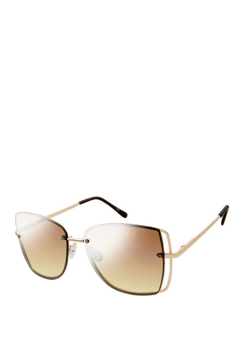 New Directions® Satellite Vented Metallic Sunglasses