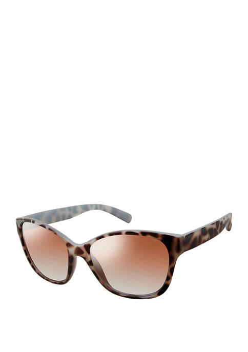 New Directions® Plastic Cat Eye Sunglasses