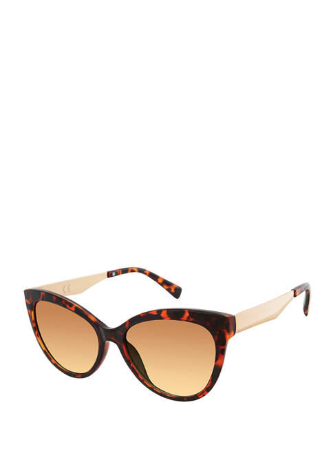 New Directions® Cat Eye Tortoise Sunglasses