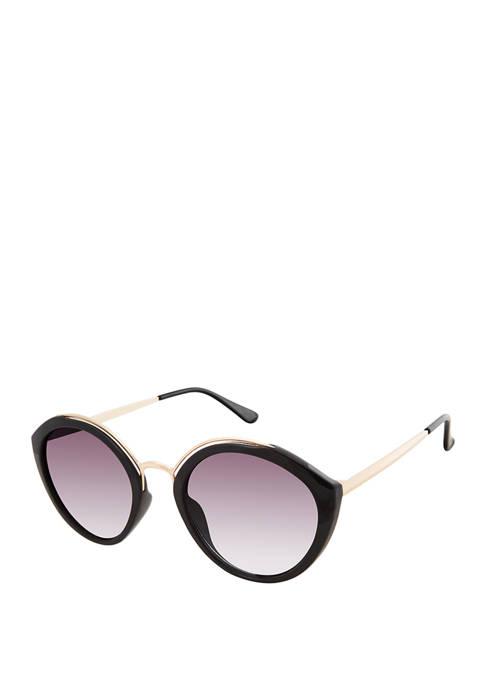 New Directions® Satellite Round Sunglasses