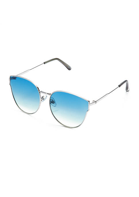 TRUE CRAFT Blue Butterfly Lens Sunglasses
