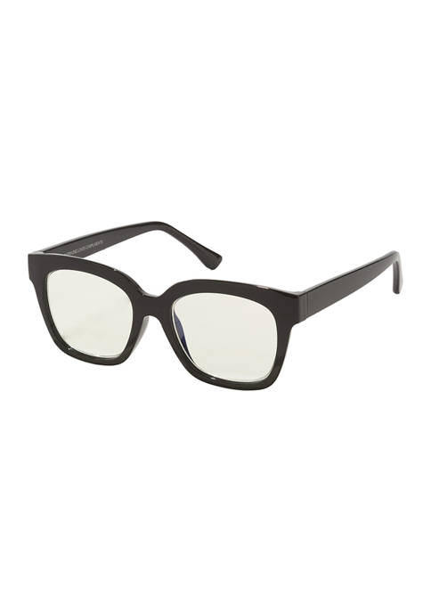 DIFF Eyewear Ava Black Sunglasses +1.5