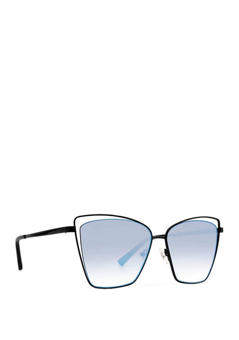 DIFF Eyewear Becky III Flash Sunglasses