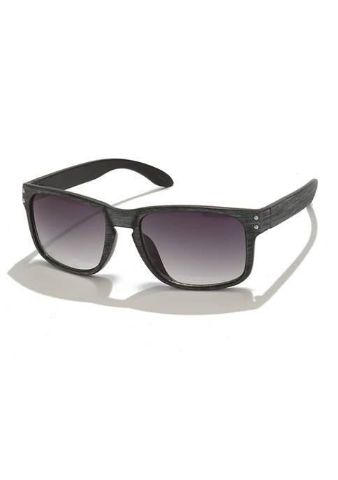 Ocean & Coast® Faux Wood Grain Sunglasses