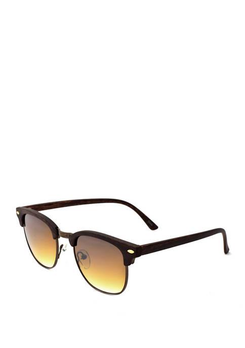 Ocean & Coast® Black Clubmaster Sunglasses