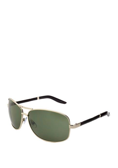 Silver Black 2 Tone Sunglasses