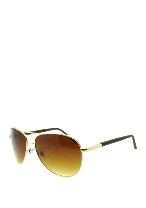 Ocean & Coast® Gold Brown 2 Tone Aviator