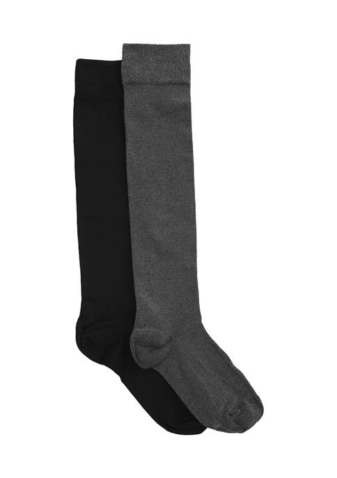 Set of 2 Knee High Socks