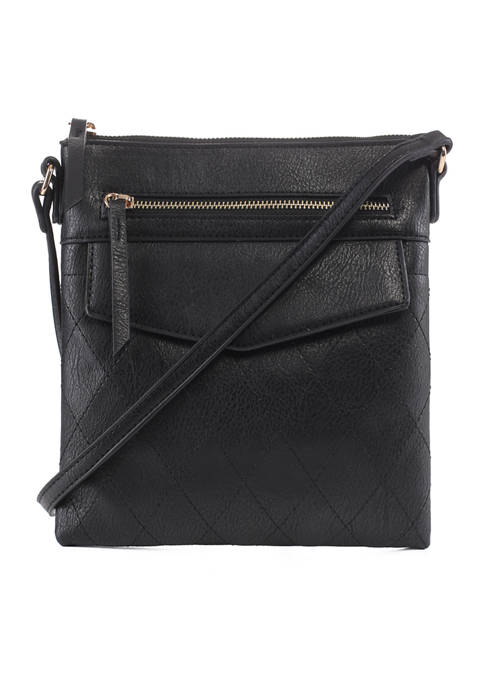 Kim Rogers® Crossbody with Front Pocket